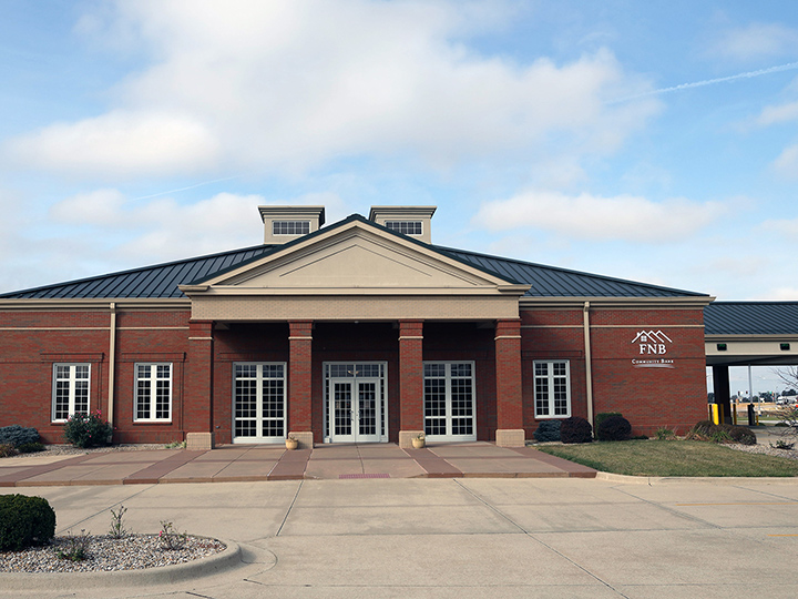 exterior of Banker Boulevard branch in Vandalia, Illinois
