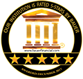 Our institution is rated 5-stars by Bauer. Awarded December 2017.